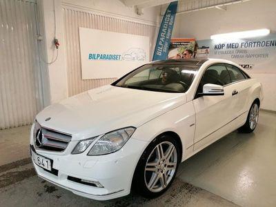 begagnad Mercedes E250 CDI Coupé BlueEFFICIENCY 5G-Tronic 204hk