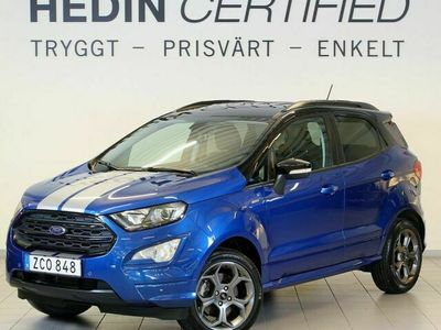 begagnad Ford Ecosport 1.0T 125hk ST-line Xenon AppleCarPlay