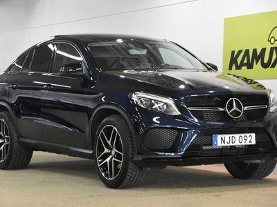 gebraucht Mercedes GLE350 d 4MATIC Coupé Panorama Navi Drag 360 Kamera 258hk