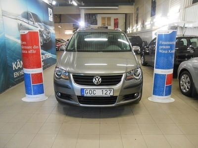 gebraucht VW Touran Cross TDI 7 SITS AUTO DRAG -08