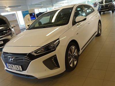used Hyundai Ioniq HYBRID 1.6 PREMIUM PLUS AUT NAV SKINN MK-VÄRM V-HJUL