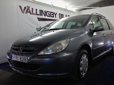 begagnad Peugeot 307 SW 2.0 (136hk) BESIKTAD,