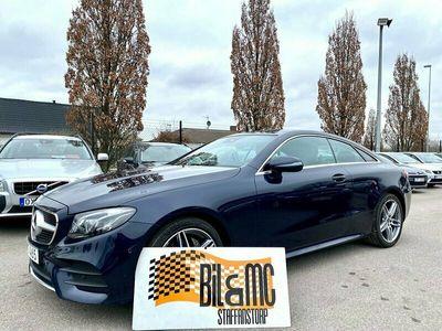 begagnad Mercedes E220 Coupé AMG paket 9G-Tronic Euro 6 194hk