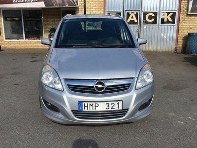 begagnad Opel Zafira 1.8 ENJOY 7-sits (140hk),Besiktig