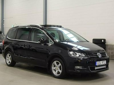 begagnad VW Sharan TDI DSG 170HK GT Premium / OBS UTRUSTNING