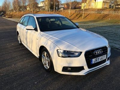 begagnad Audi A4 Avant 2,0 TDI Q 150 Hk S-Line P-Värmare