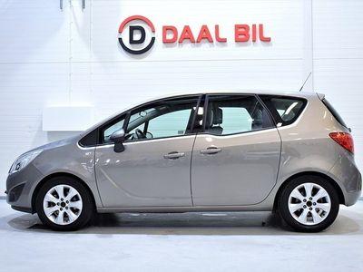 begagnad Opel Meriva 1.3 95HK NAVI M-VÄRM PDC-FR&BAK FULLSERV
