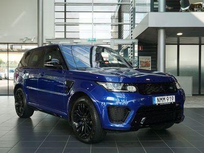 begagnad Land Rover Range Rover Sport SVR hk Leasebar