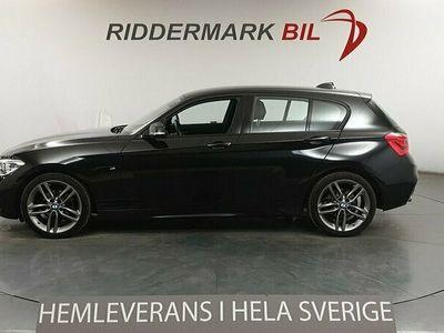 begagnad BMW 118 d 5-door M Sport Skinn PDC Rattvärme Euro 6 150hk