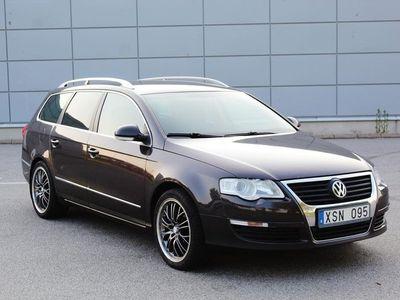 begagnad VW Passat Kombi 2.0 150hk Dragkrok
