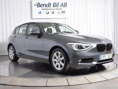 begagnad BMW 118 d 5-dörrars 143hk