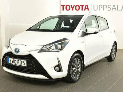 begagnad Toyota Yaris 1,5 Elhybrid Active M-värmare
