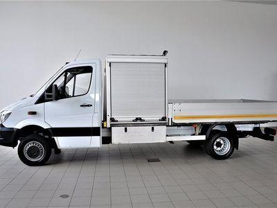 begagnad Mercedes Sprinter Benz 516 Cdi 4X4 Flakbil 2014, Transportbil 436 250 kr