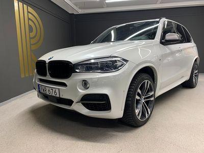 begagnad BMW X5 M50d Navi B&O M-Sport Panorama 381hk