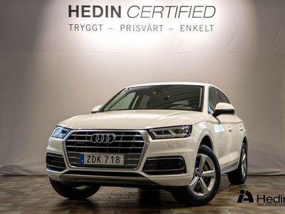 begagnad Audi Q5 Quattro 2.0 TDI // ADAPTIV FARTHÅLLARE & VINTERHJUL //