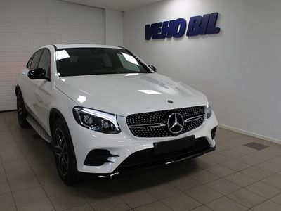 begagnad Mercedes GLC220 d Coupé 4-Matic Värmare -19