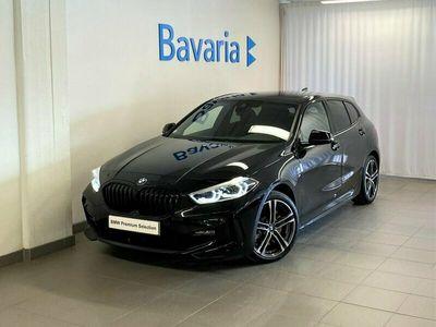 begagnad BMW 120 d xDrive M-Sport Nav Shadow Line HiFi Ny 2021, Halvkombi Pris 362 700 kr
