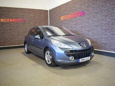 begagnad Peugeot 207 5-dörrar 1.6 Sport 109hk Ny Besiktad