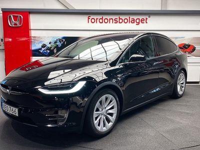 begagnad Tesla Model X 90D AWD 7-Sits Drag 2017, Sedan 799 000 kr