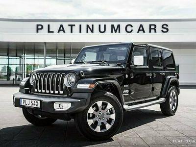 begagnad Jeep Wrangler Unlimited 2.2 CRD 4WD Sv.såld 2020, SUV Pris 489 000 kr