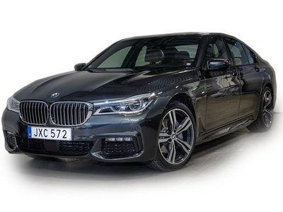 begagnad BMW 730 d xDrive M-sport nya modellen 2015, Sedan