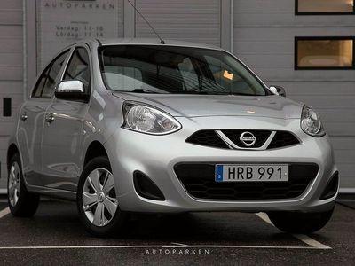 begagnad Nissan Micra 1.2 Visia 1-Ägare Svensksåld