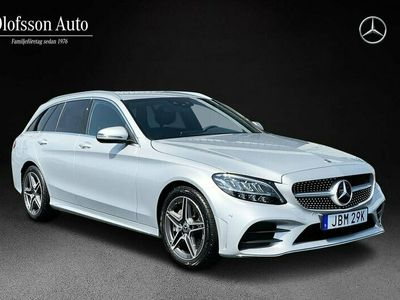 begagnad Mercedes C200 Kombi AMG Drag Navi