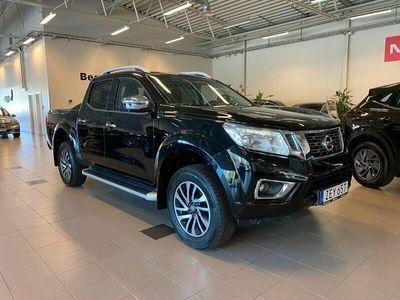 begagnad Nissan Navara Dubbelhytt 2.3 dCi 4WD Automat V-hjul 2018, Pickup Pris 279 000 kr