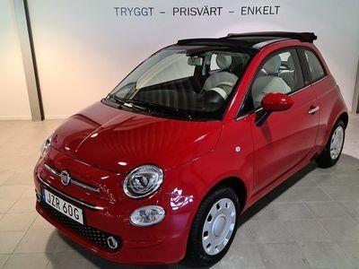 begagnad Fiat 500C 1.2 LOUNGE/CARPLAY