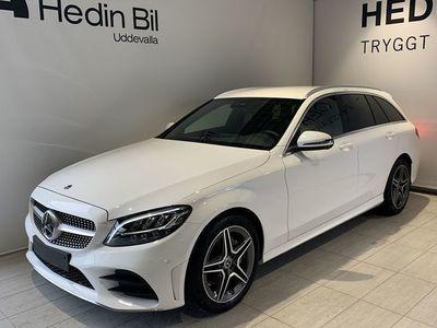 begagnad Mercedes C200 200//AMG-Line//Kombipaket//Värmare//SE-Edition//Navi