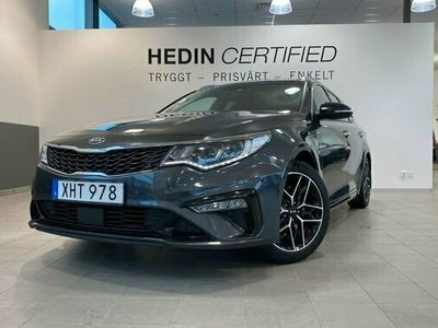 begagnad Kia Optima SW 1.6 T-GDI DCT GT-LINE PLUS 2019, Personbil Pris 259 900 kr