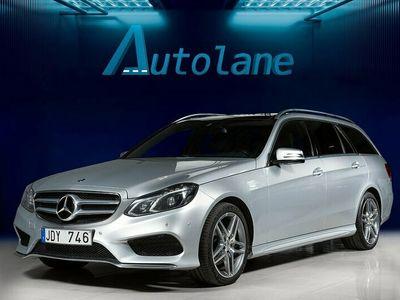 begagnad Mercedes E220 AMG, Aut, Pano, Värmare 170hk