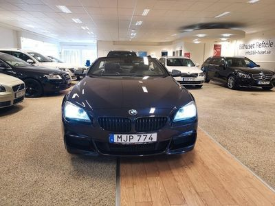 begagnad BMW 640 d Convertible Steptronic M Sport 313hk