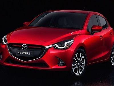 begagnad Mazda 2 1.5 90hk 6aut Optimum, Off-White skinn