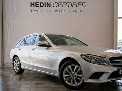 begagnad Mercedes C220 d 4MATIC // Dragkrok & Navigation //
