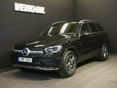 begagnad Mercedes 300 GLC Benzde 4-Matic AMG 360-Kamera Aut Drag Nav Multibeam 2021, SUV Pris 649 000 kr