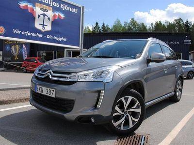 begagnad Citroën C4 Aircross 1,6 e-HDI 4WD PANORAMATAK,P-RADAR,V-HJUL ALU SUV