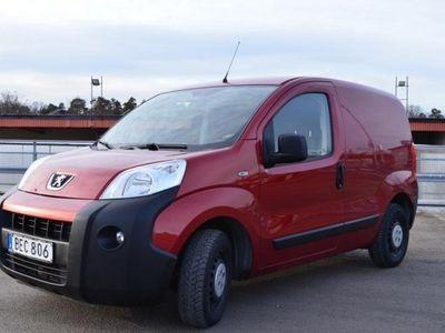 begagnad Peugeot Bipper 1,4 HDI Skåp 70hk Nyservad Lågmil