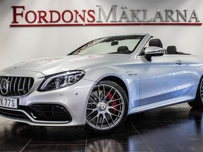 begagnad Mercedes C63S AMG CABRIOLET AUT 510 HK EURO 6