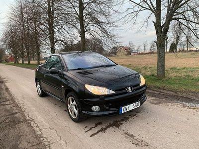 begagnad Peugeot 206 CC 1.6 109hk