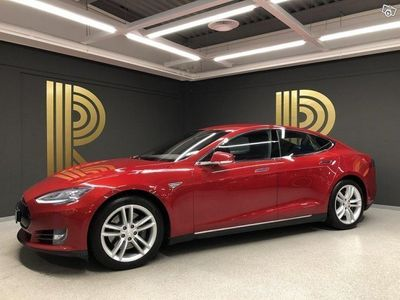 begagnad Tesla Model S 70D AWD (333hk) Luftfjädring / Premium / Leasebar