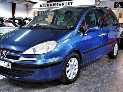 begagnad Peugeot 807 3.0 V6 Automat 7-sits 204hk,Serva