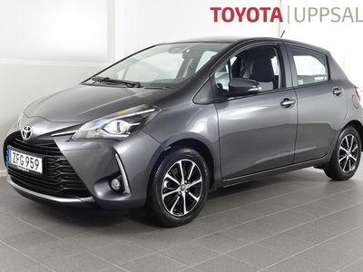 begagnad Toyota Yaris 1,5 Touch & Go Navigator -18