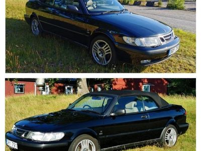 begagnad Saab 9-3 Cabriolet 2.0, högerstyrd
