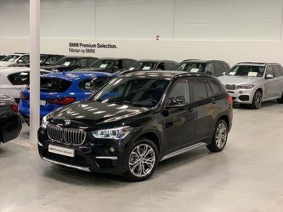 begagnad BMW X1 20d / xDrive / X-line / HIFI / Backkamera / Tonade Rutor