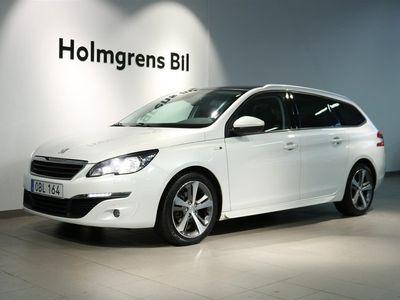 begagnad Peugeot 308 SW Style 1.6 BHDi 120hk Aut Glastak