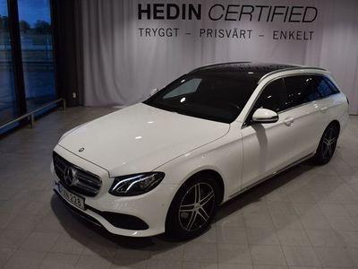 begagnad Mercedes E220 // Parkeringsvärmare // Panorama