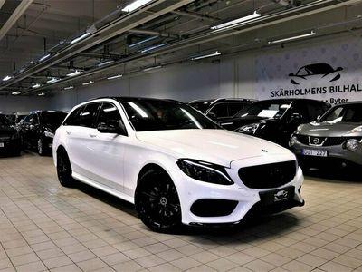 begagnad Mercedes 220 C4M AMG PANORAMA EU6 BURMESTER GPS DRAG