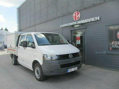 begagnad VW Transporter T52.0 TDI Dubbelhytt Pickup 2010, Transportbil Pris 119 000 kr