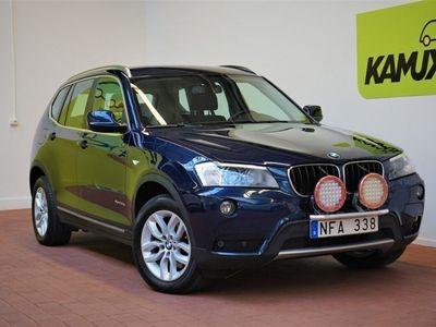 begagnad BMW X3 xDrive20d Steptronic Navi Drag 184hk